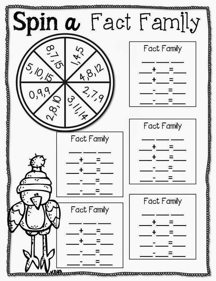 fact family practice for kids