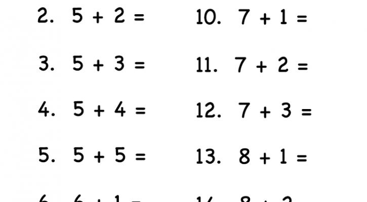 free fun math worksheets easy