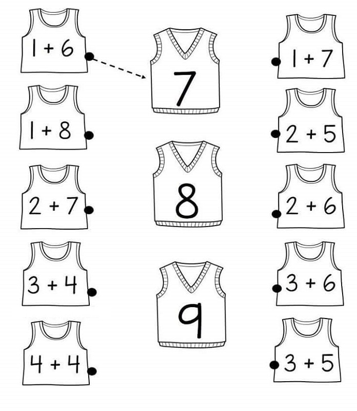 fun math worksheet for kids