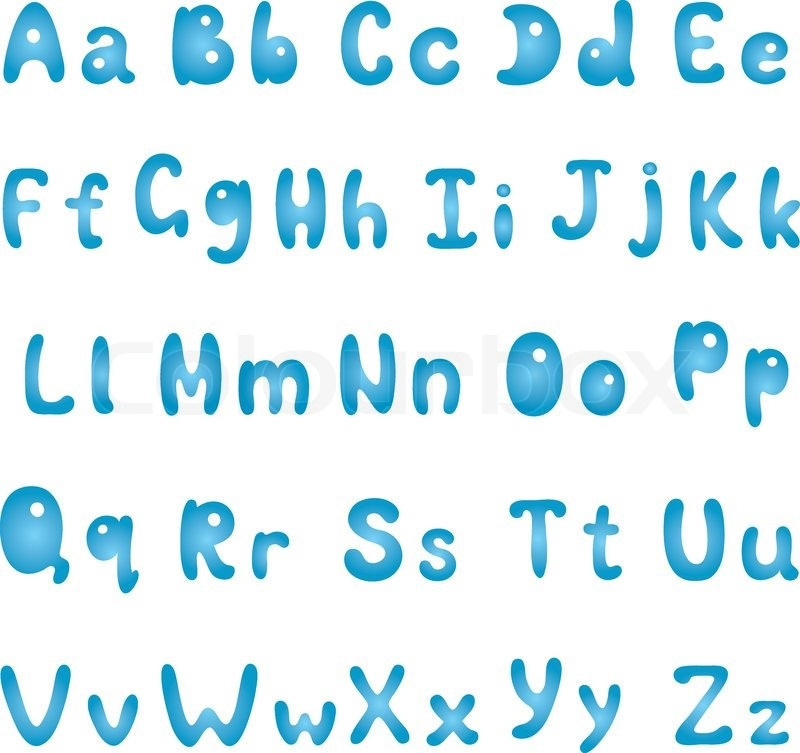 uppercase and lowercase letters preschool