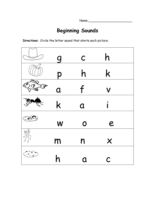 free letter worksheets printable