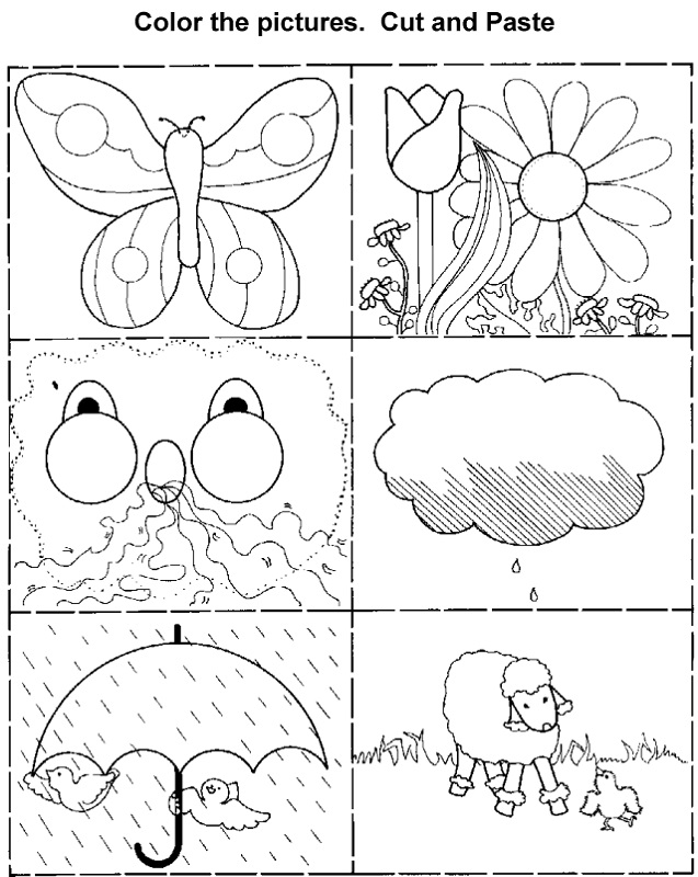 fun activity worksheets for kids cut