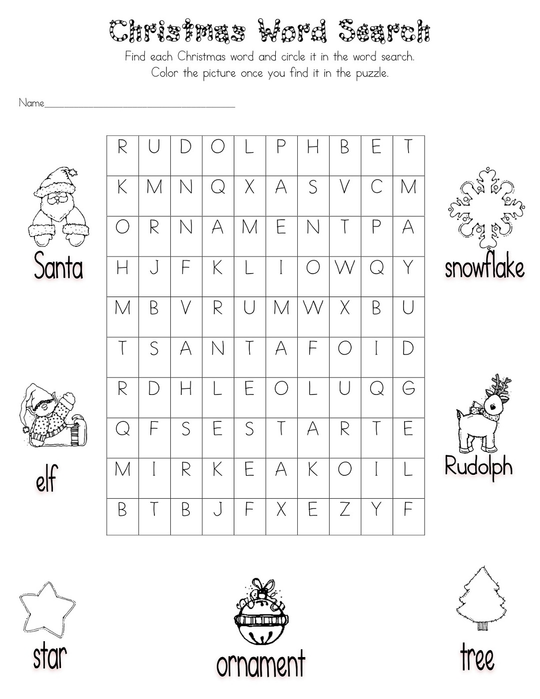 kid word search puzzles free