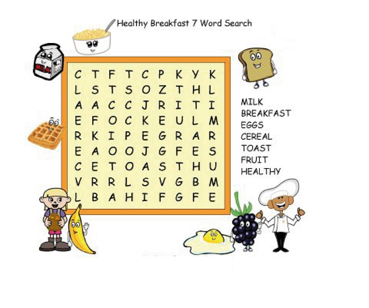 kid word search puzzles printable