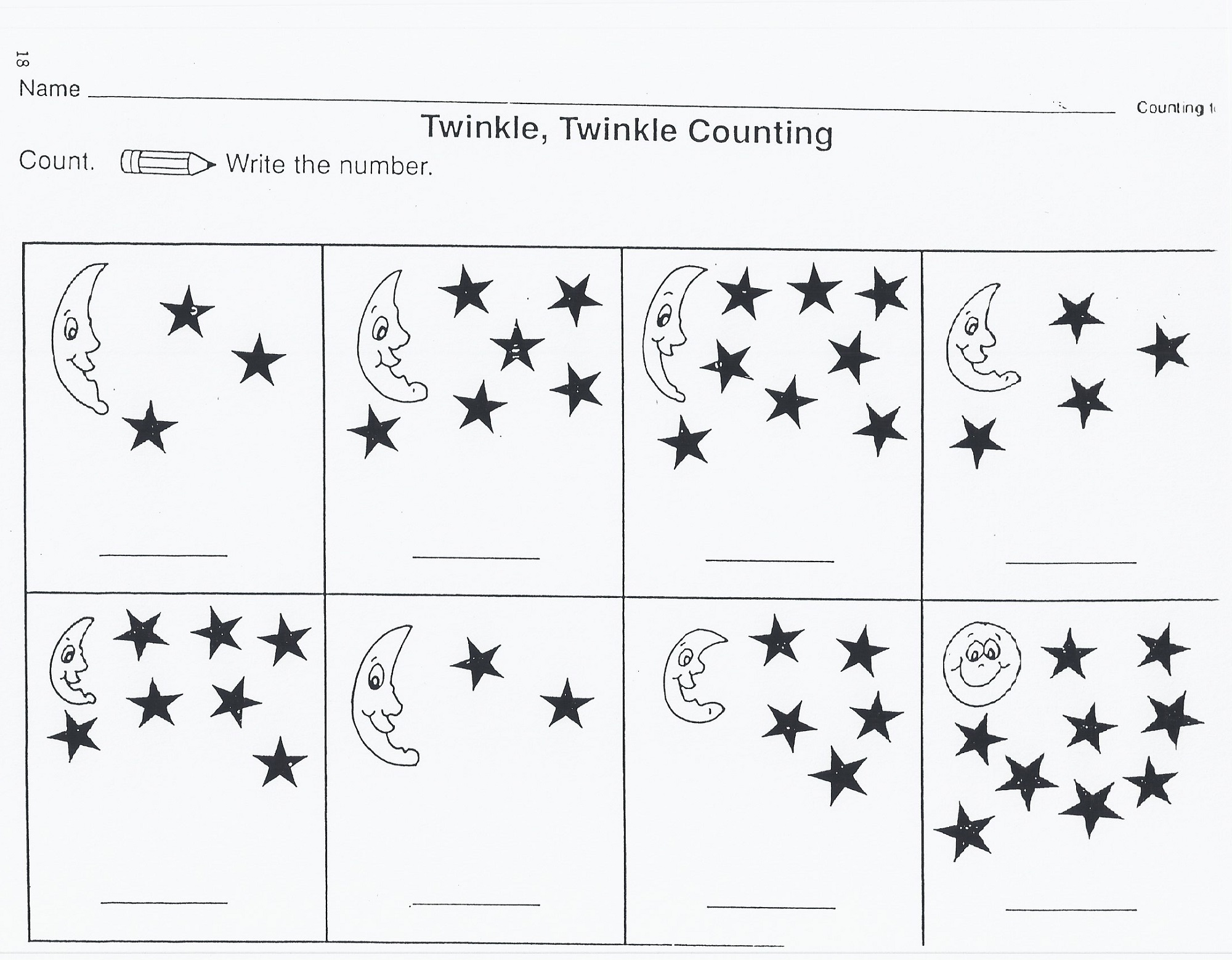 Outer Space Worksheets For Kids