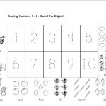 traceable numbers worksheets easy