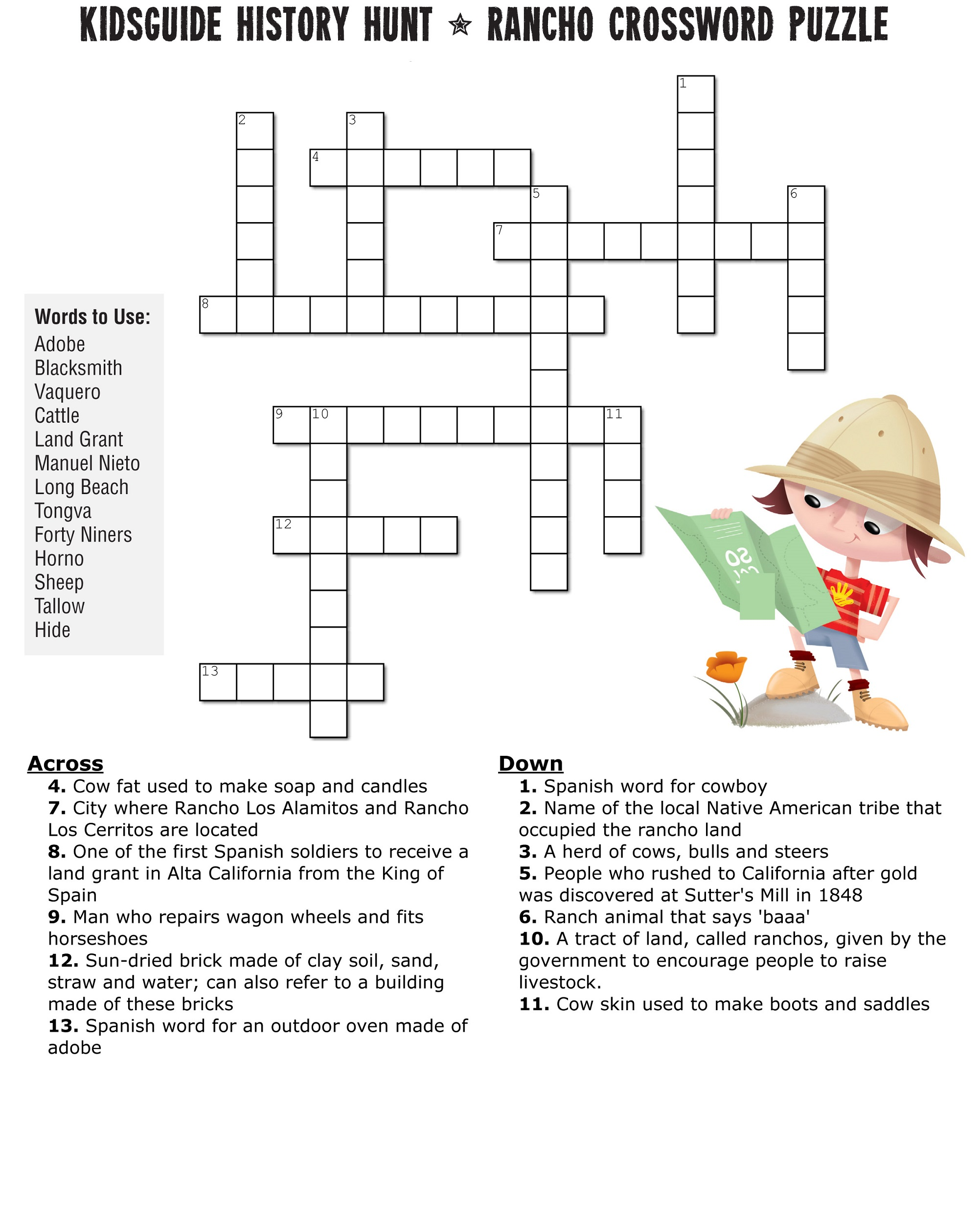 image about Crossword Puzzles for Kids Printable titled Cost-free Printable Phrase Puzzles for Young children K5 Worksheets