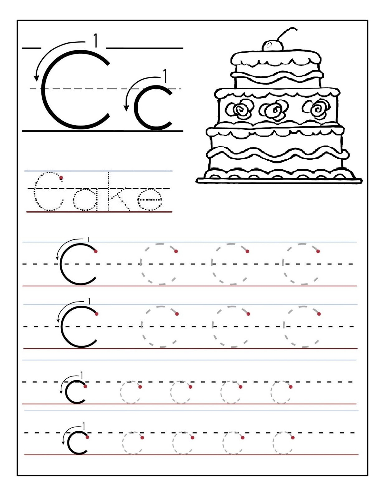 Kids Learning Sheets Printable
