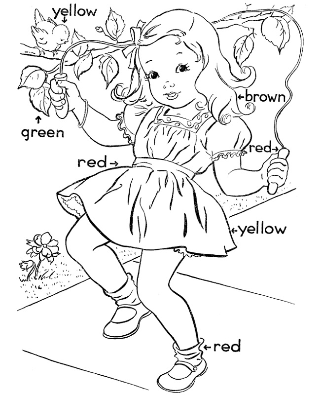 activity sheet for kids simple