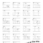 alphabet practice worksheets pdf