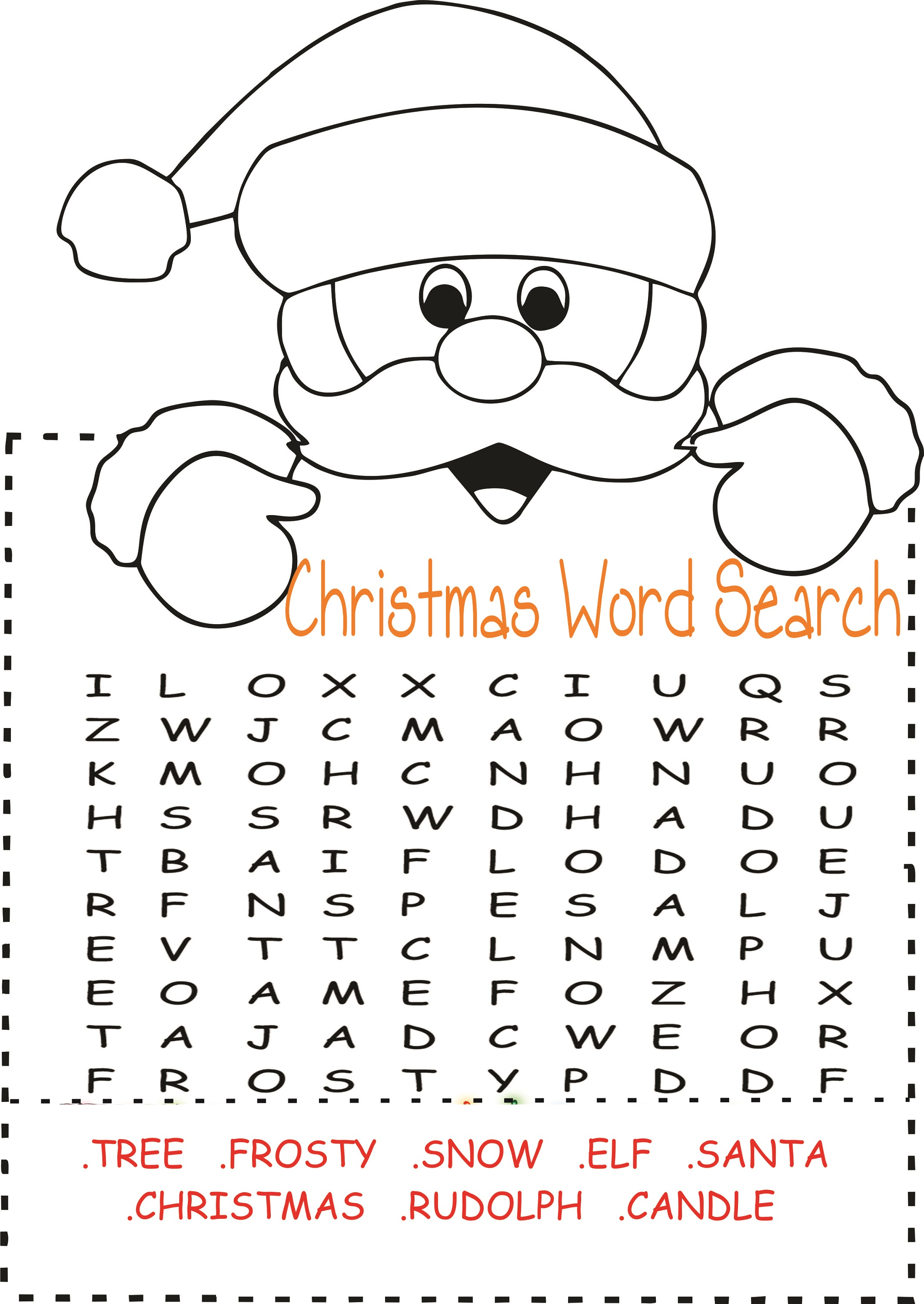 free easy word search for kids