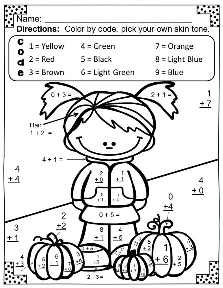 fun math pages 2nd grade