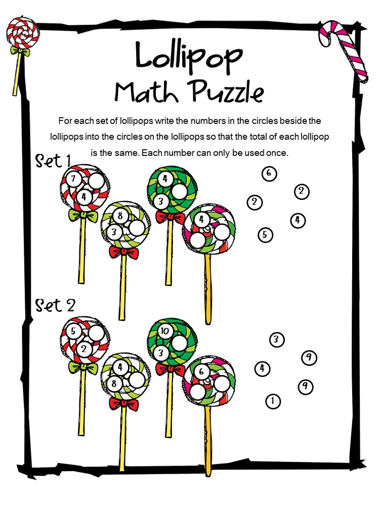 fun puzzle worksheets to print