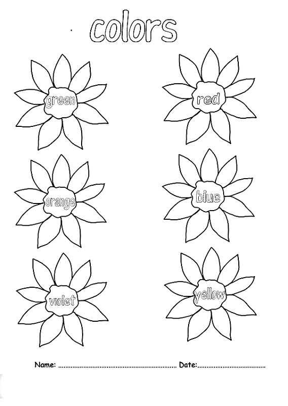 kids activity pages to color