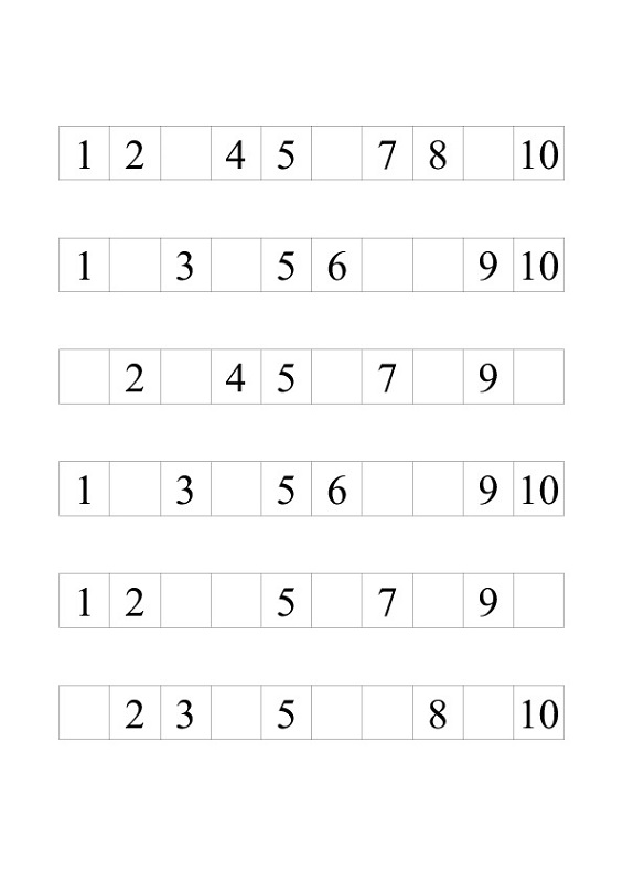 numbers 1-10 worksheets missing