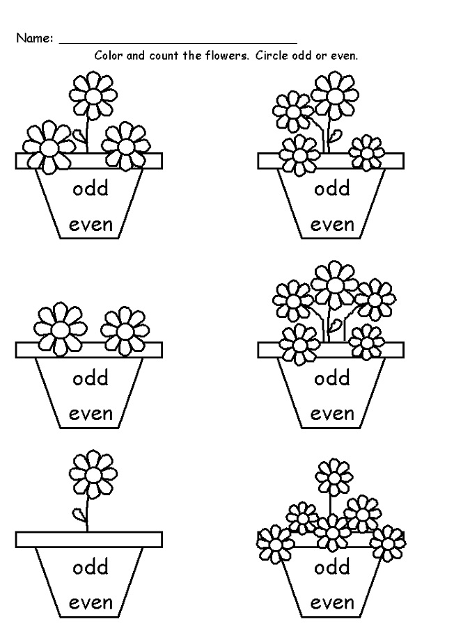 odd and even numbers worksheets fun