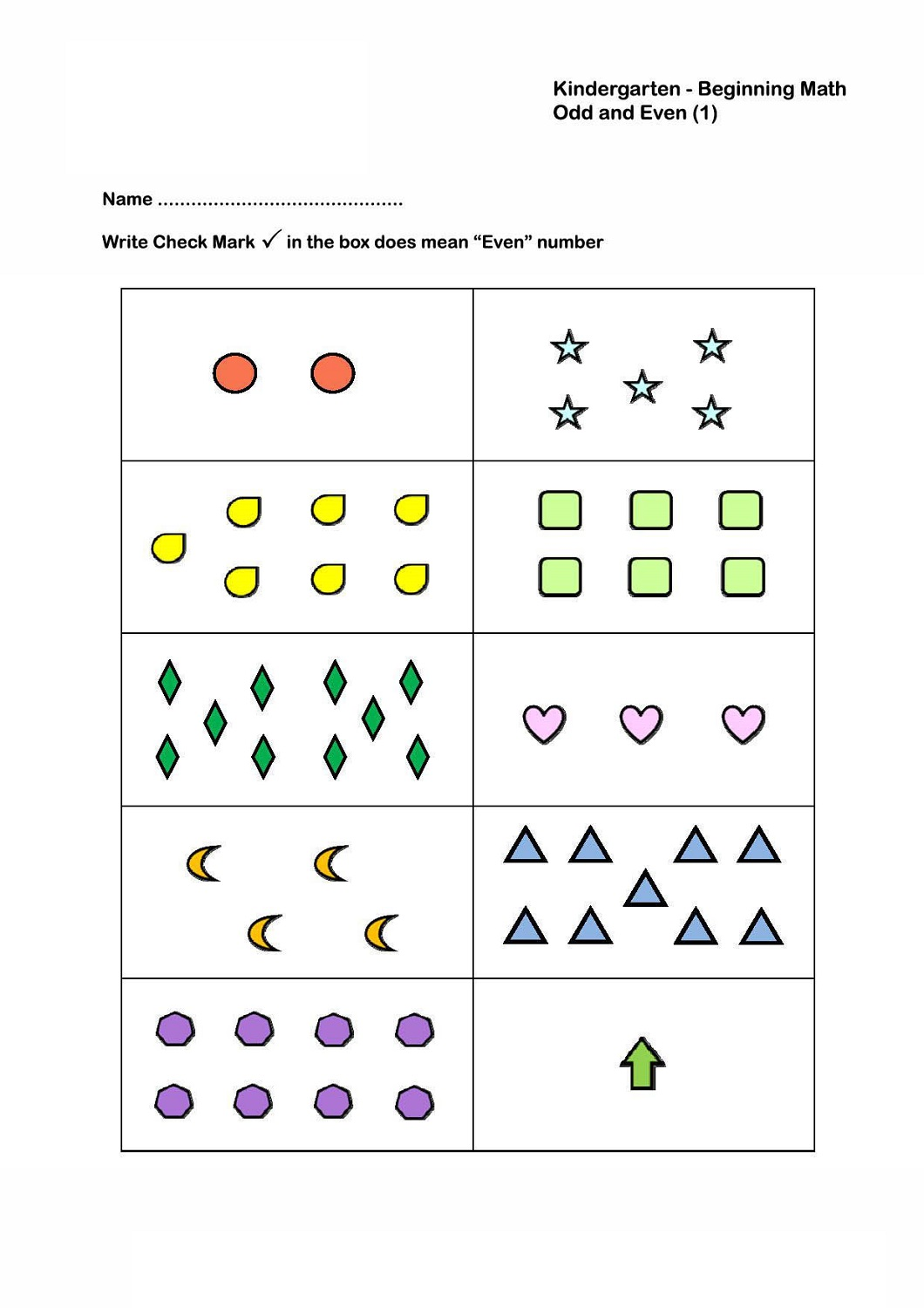 odd and even numbers worksheets printable