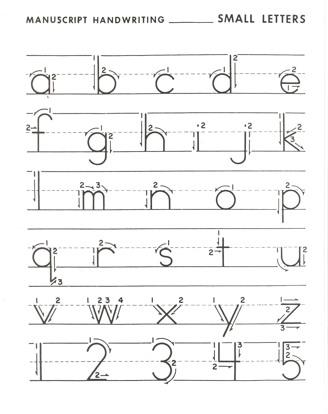 traceable alphabet letters lowercase