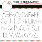 traceable alphabet letters to print