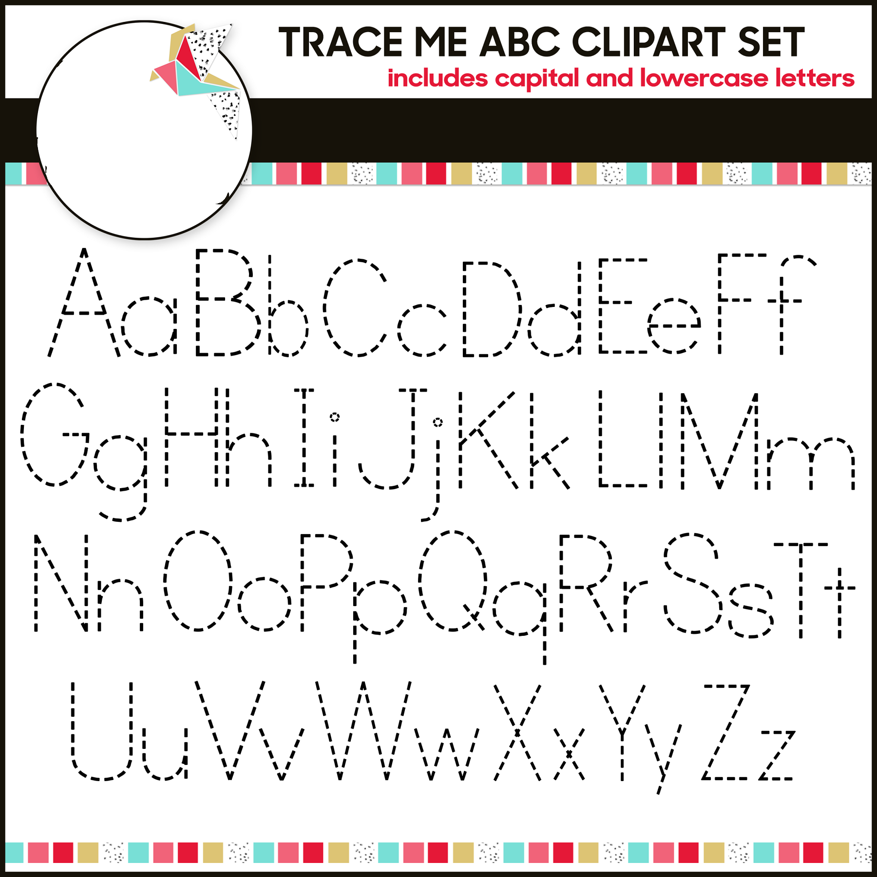 traceable alphabet letters to print