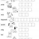 word scramble for kids easy