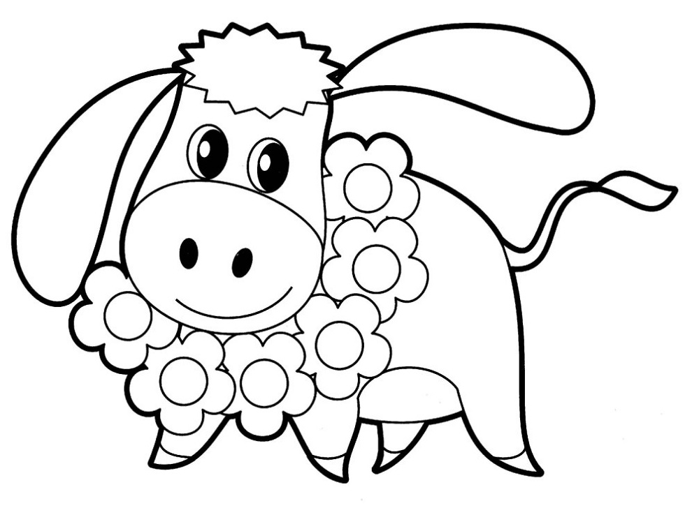 Coloring Images for Kids Animals