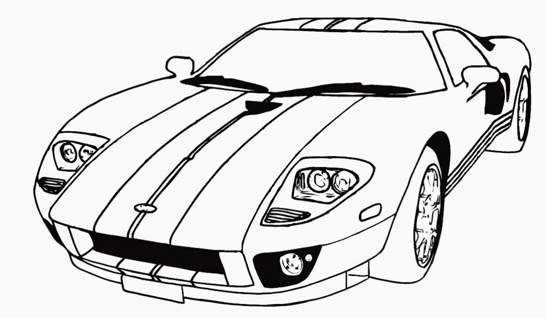 Coloring for Boys Cars