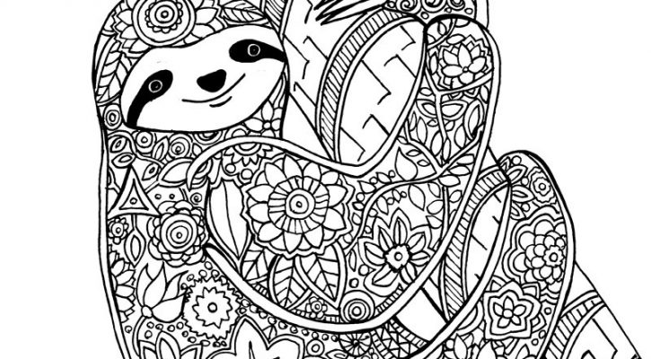 A Coloring Sheet Adults