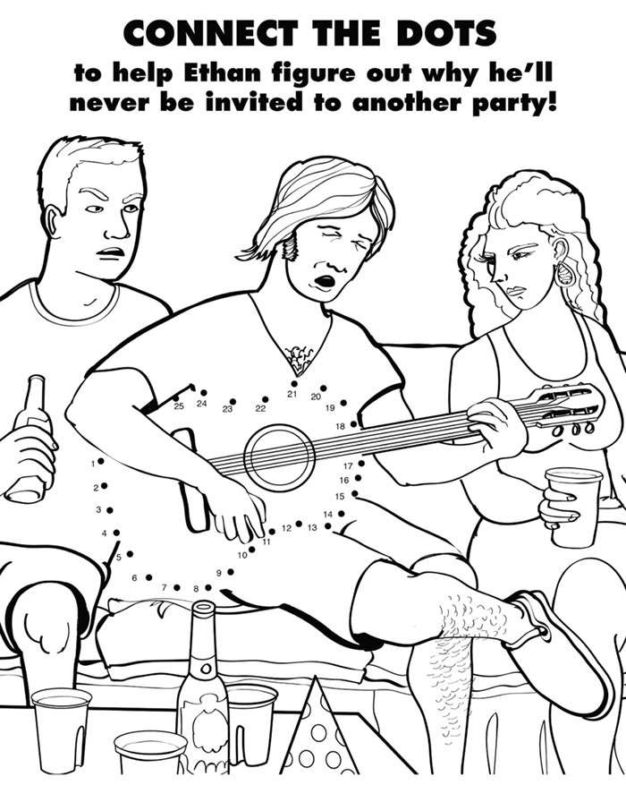 Coloring Activity Sheets Adult