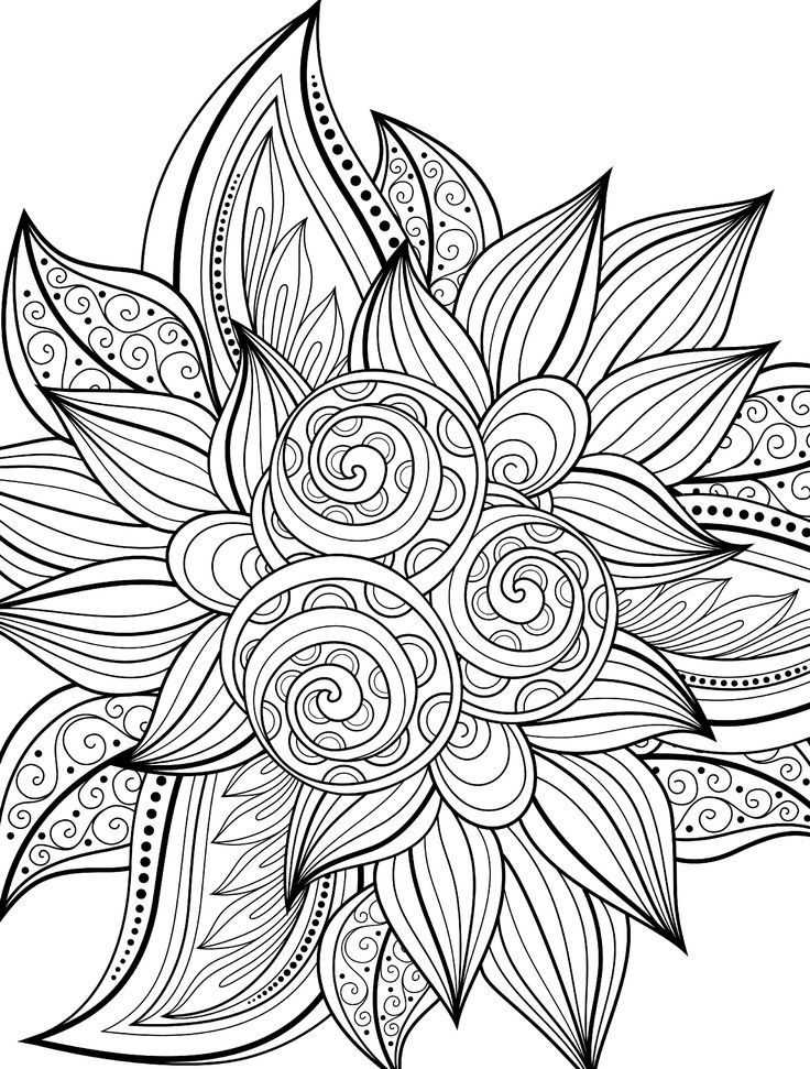 Colouring Sheets to Print Adult