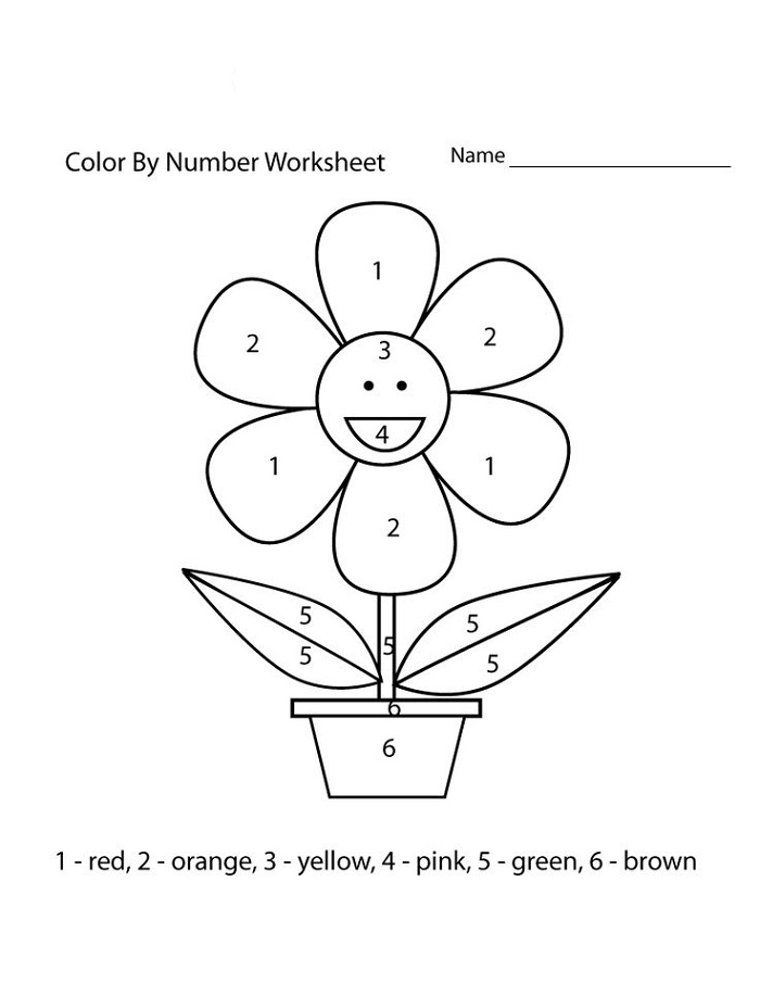 Easy Worksheets Number