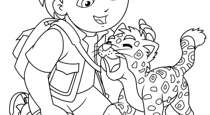 Free Coloring Papers Diego