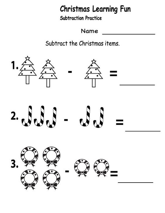 Free Printables for Kindergarten Christmas