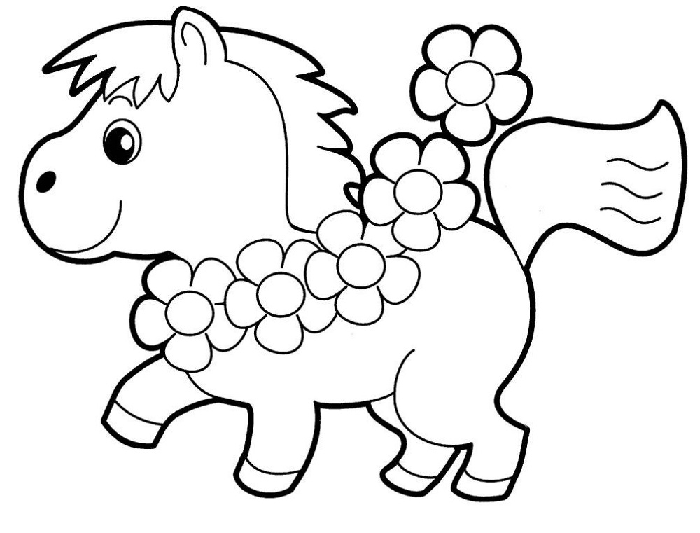 Kindergarten Coloring Pages Animals