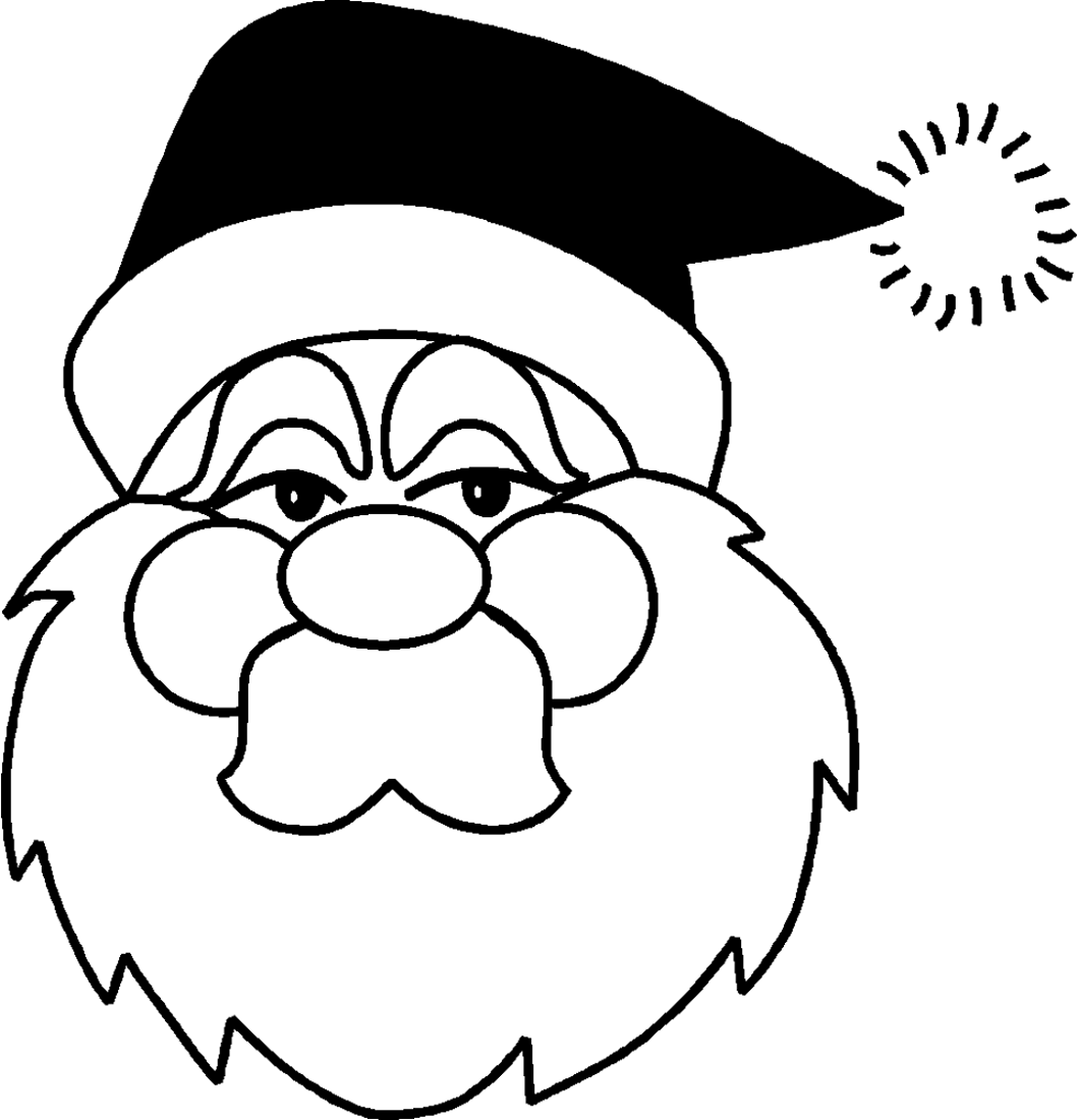Toddler Coloring Pages Chritsmas