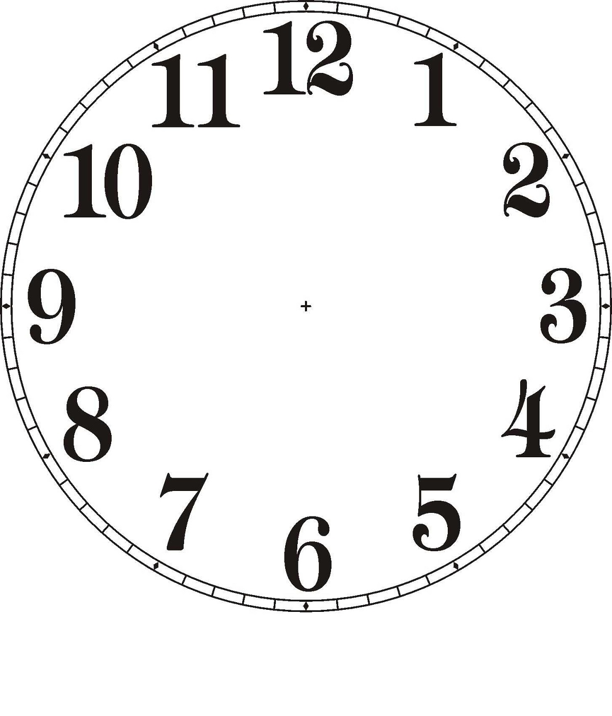 free clock faces page