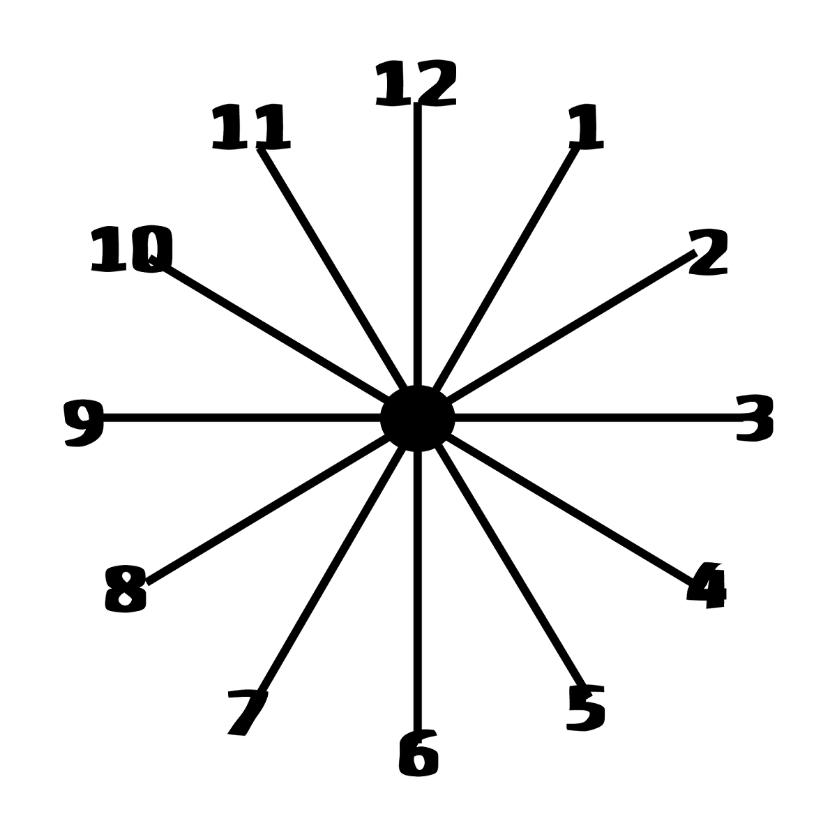 free clock faces template