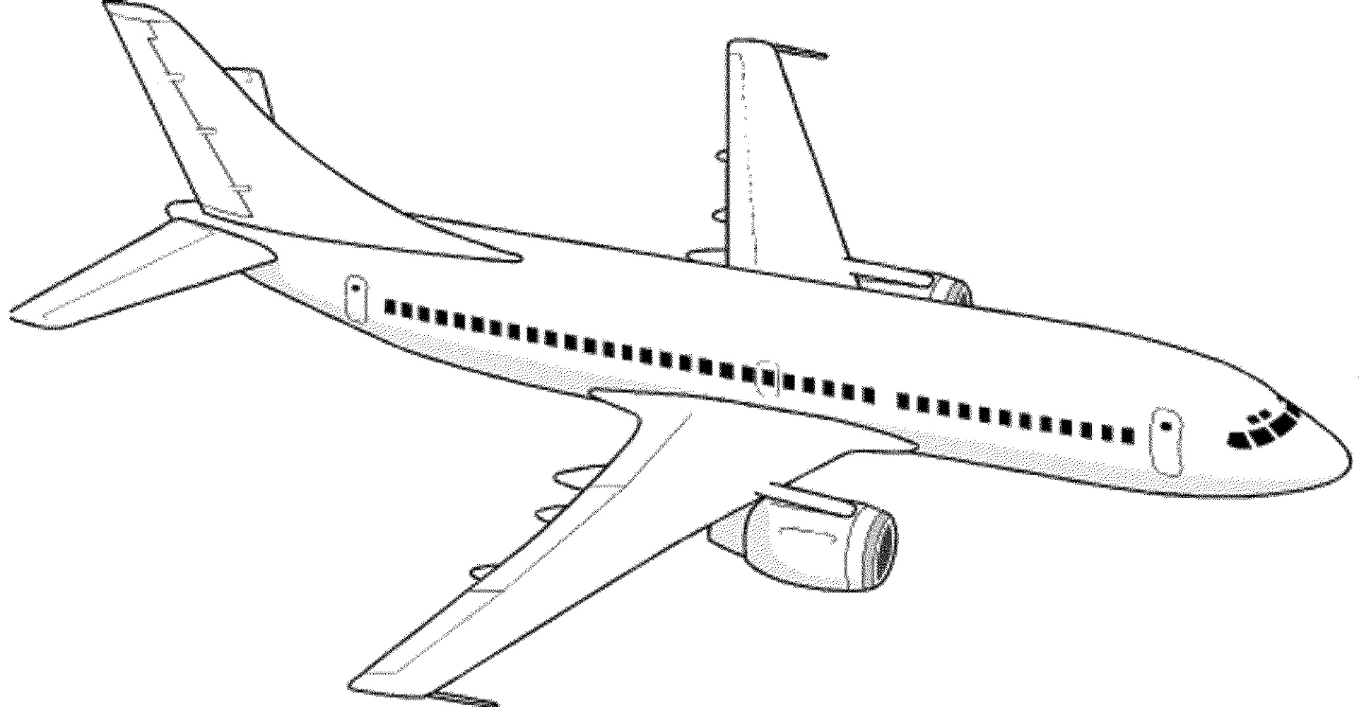 Airplane Coloring Pages Printable