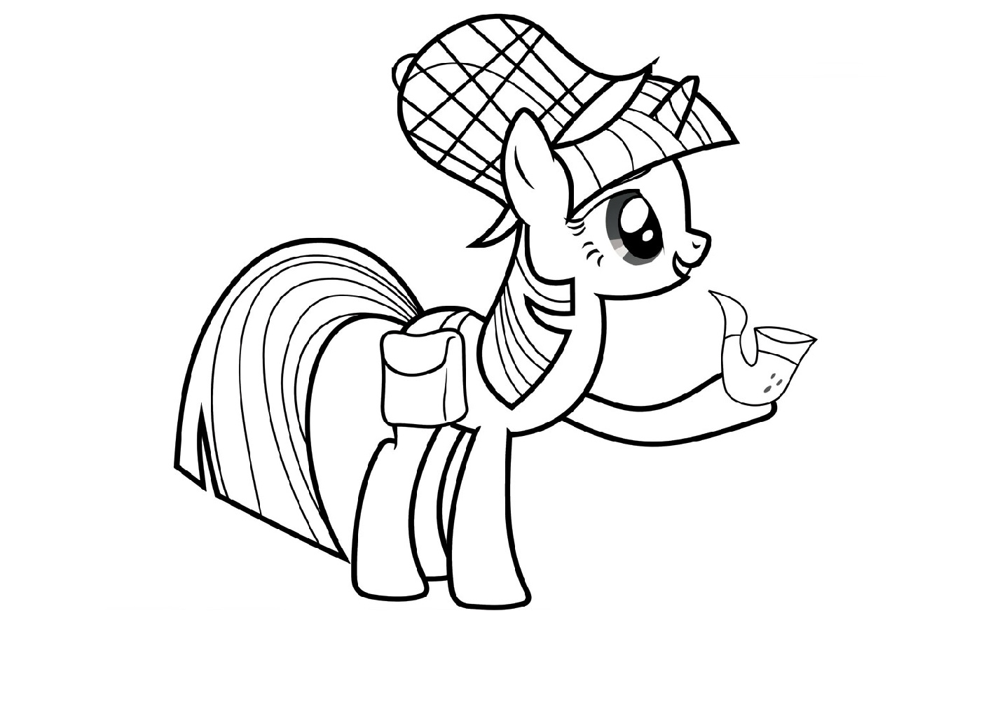 Alicorn Coloring Pages To Print