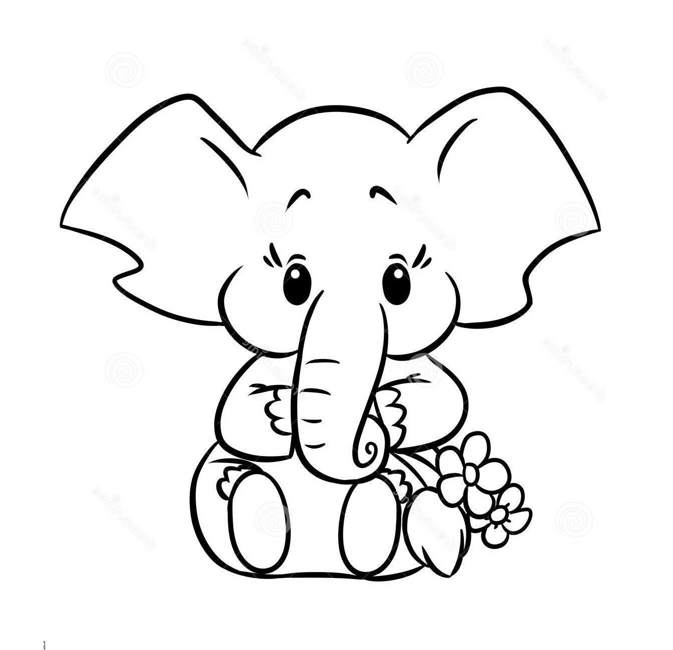 Animal Coloring Pages Baby