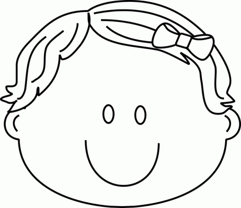 Coloring Pages For Kids Face