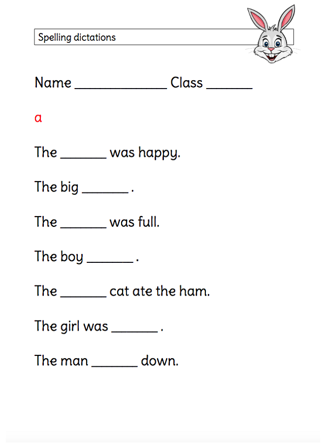 Ks1 Worksheets Spelling