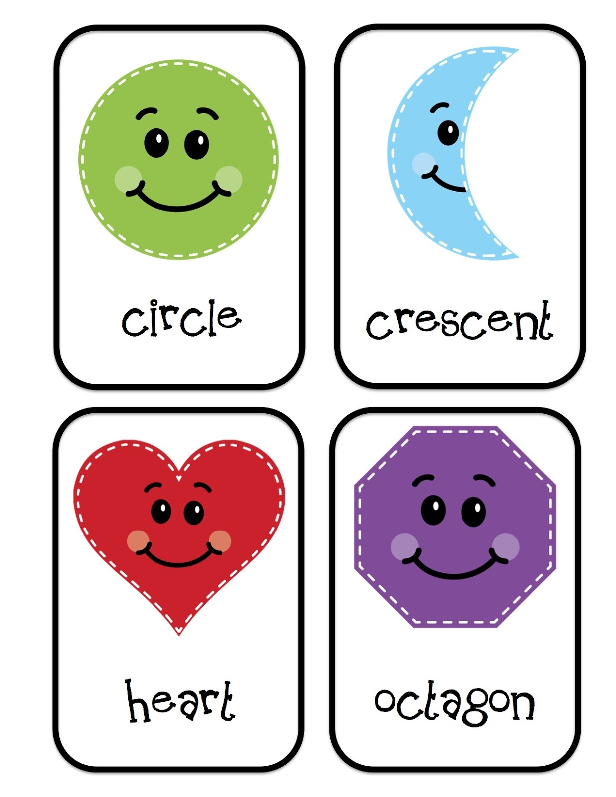 Preschool Printables Shape