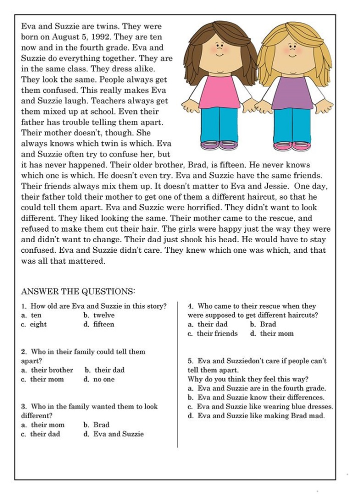 Printable Reading Worksheets Toddlers