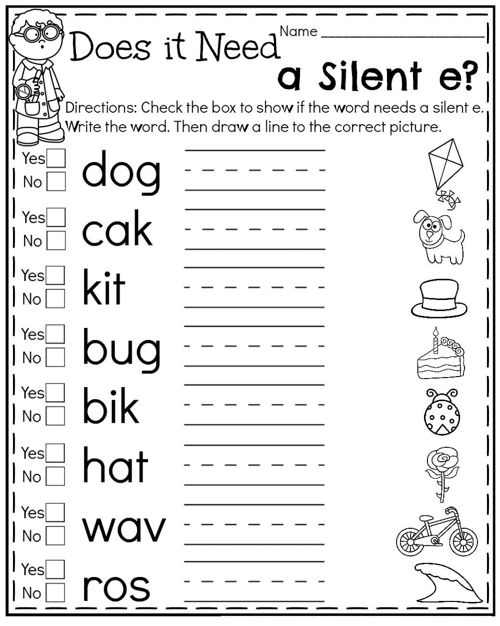 1st Grade Worksheets Summer