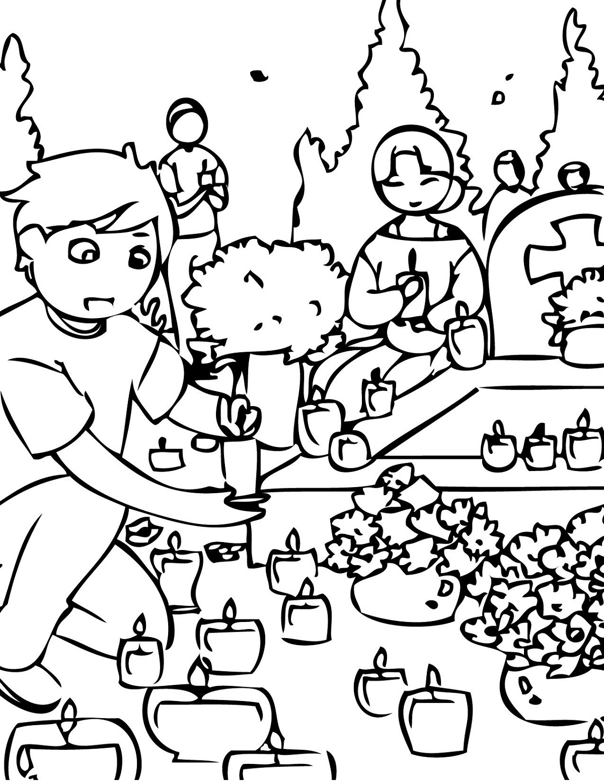 All Saints Day Coloring Pages To Print