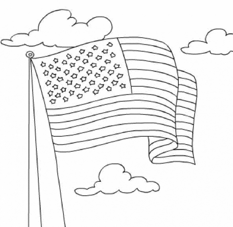 American-Flag-Coloring-Page-To-Print.