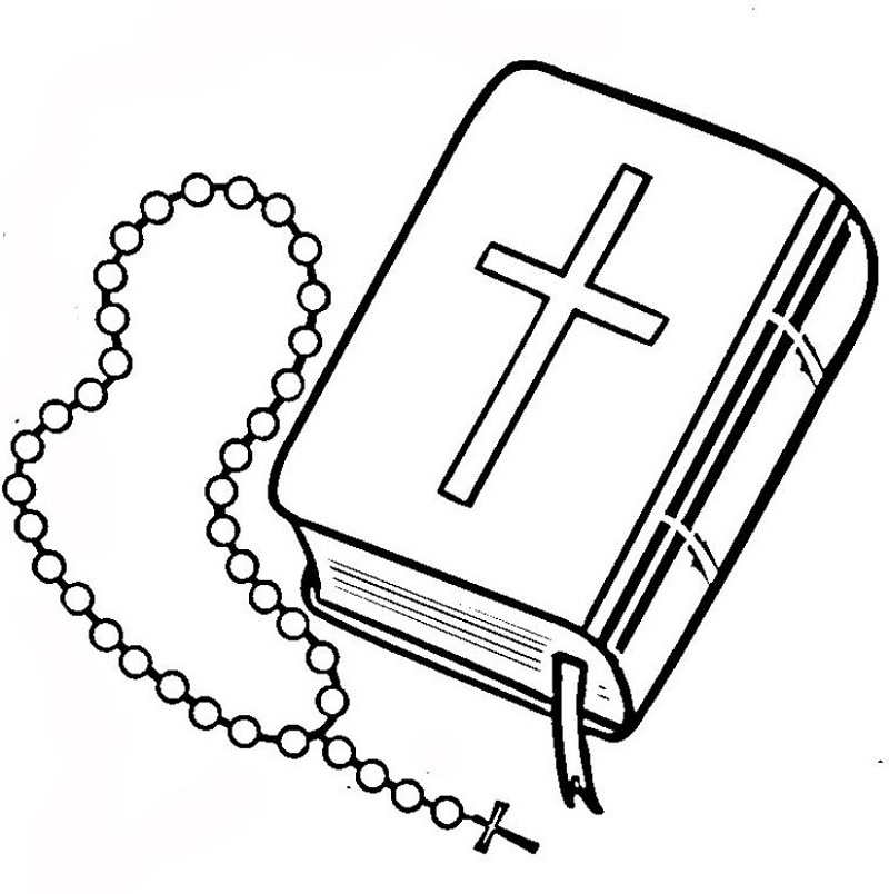 Christian Coloring Pages Bible