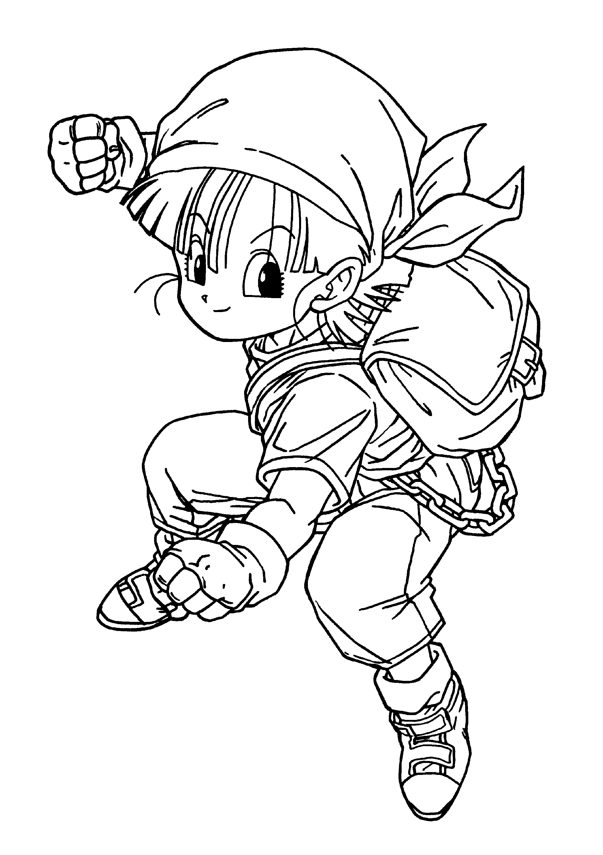 Dragon Ball Z Coloring Pages Cell