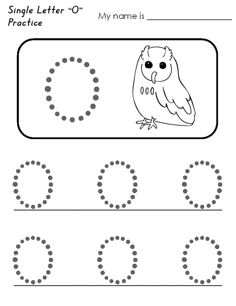 Educational Worksheets For Preschoolers Letter